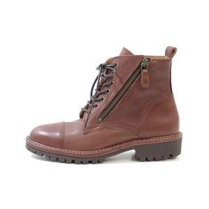 SAYA ブーツ サヤ ラボキゴシ 靴 50668 本革 レースアップブーツ ショートブーツ レディース ローヒール ビブラムソール セール Parade ワシントン靴店