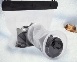 一眼レフカメラ用防水バッグ(レンズ9.5×15cm)