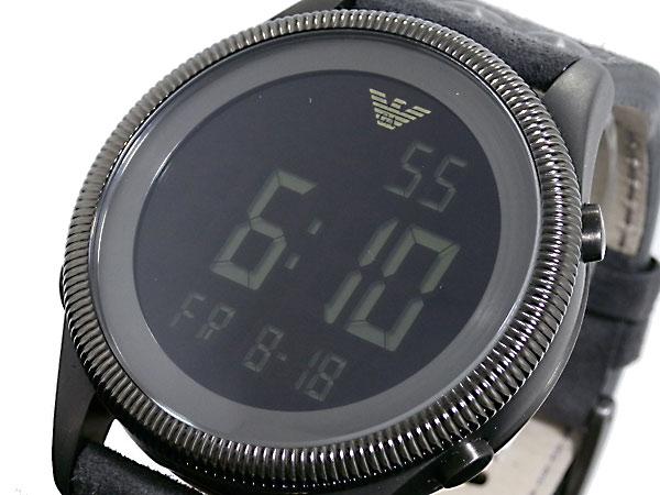 uk availability 2b071 7b4b9 エンポリオ アルマーニ emporio armani デジタル 腕時計 ar0638