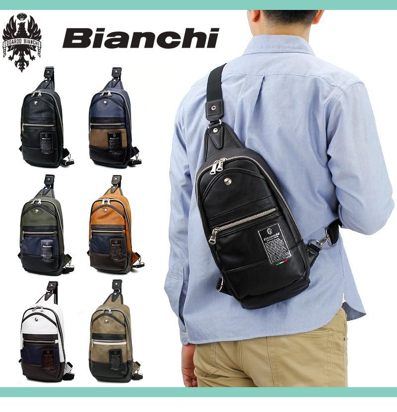 Bianchi ビアンキ TBPI ボディバッグ ワンショルダーバッグ 斜め ...