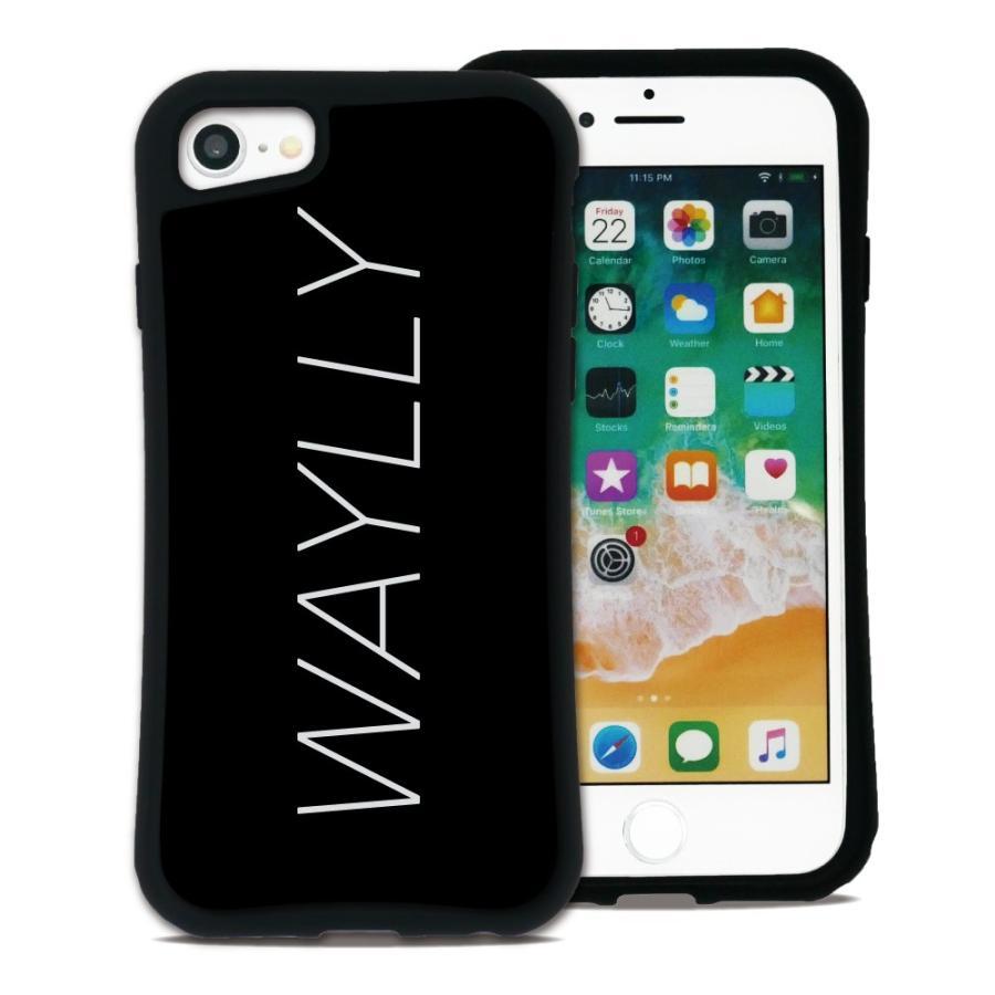 iPhone8 7 6s 6 SE 第2世代 ケース スマホケース メインロゴ 耐衝撃 シンプル おしゃれ くっつく ウェイリー WAYLLY _MK_|waylly|18