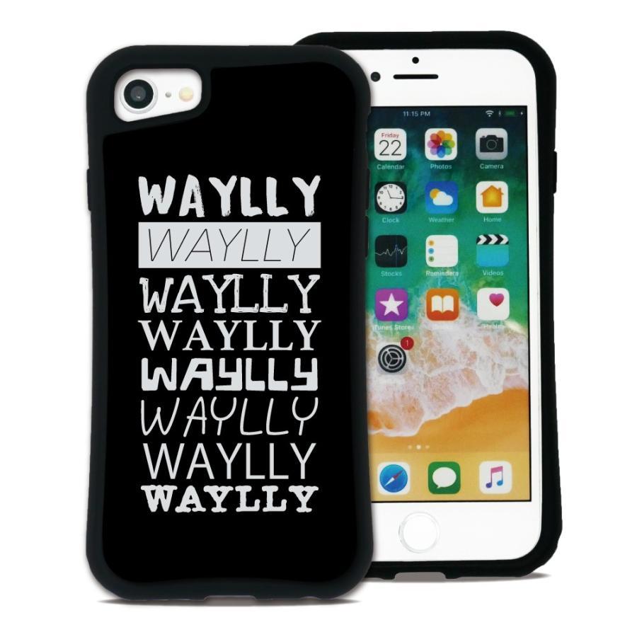 iPhone8 7 6s 6 SE 第2世代 ケース スマホケース メインロゴ 耐衝撃 シンプル おしゃれ くっつく ウェイリー WAYLLY _MK_|waylly|19