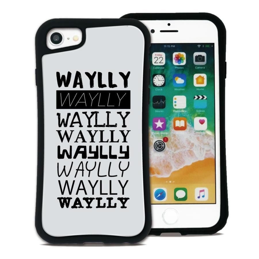 iPhone8 7 6s 6 SE 第2世代 ケース スマホケース メインロゴ 耐衝撃 シンプル おしゃれ くっつく ウェイリー WAYLLY _MK_|waylly|20