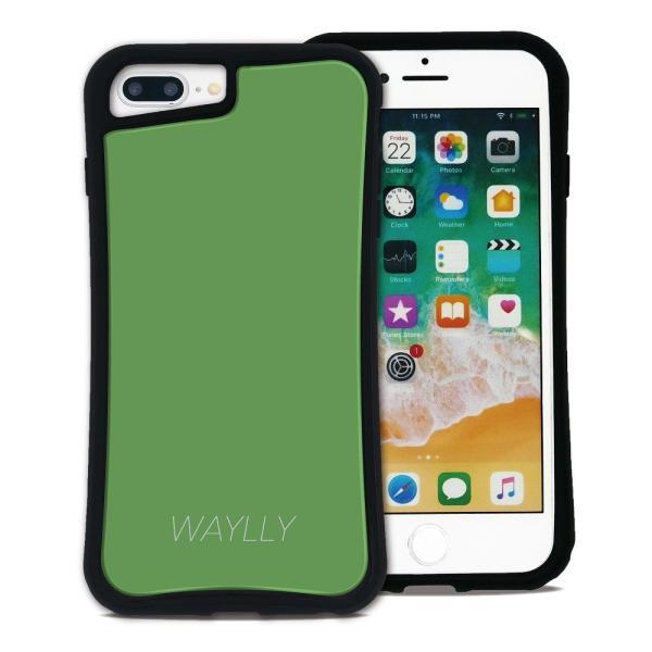 iPhone 7Plus 8Plus 6Plus 6sPlus ケース スマホケース スモールロゴ 耐衝撃 シンプル おしゃれ くっつく ウェイリー WAYLLY _MK_ waylly 29