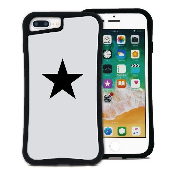 iPhone 7Plus 8Plus 6Plus 6sPlus ケース スマホケース スター 耐衝撃 シンプル おしゃれ くっつく ウェイリー WAYLLY _MK_|waylly|18