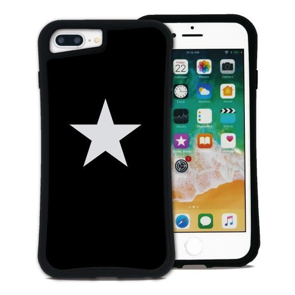 iPhone 7Plus 8Plus 6Plus 6sPlus ケース スマホケース スター 耐衝撃 シンプル おしゃれ くっつく ウェイリー WAYLLY _MK_|waylly|19