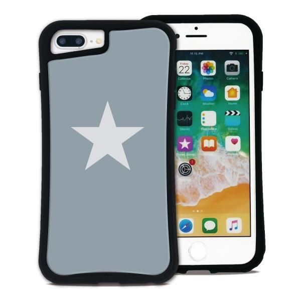 iPhone 7Plus 8Plus 6Plus 6sPlus ケース スマホケース スター 耐衝撃 シンプル おしゃれ くっつく ウェイリー WAYLLY _MK_|waylly|21