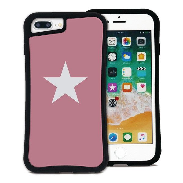 iPhone 7Plus 8Plus 6Plus 6sPlus ケース スマホケース スター 耐衝撃 シンプル おしゃれ くっつく ウェイリー WAYLLY _MK_|waylly|22