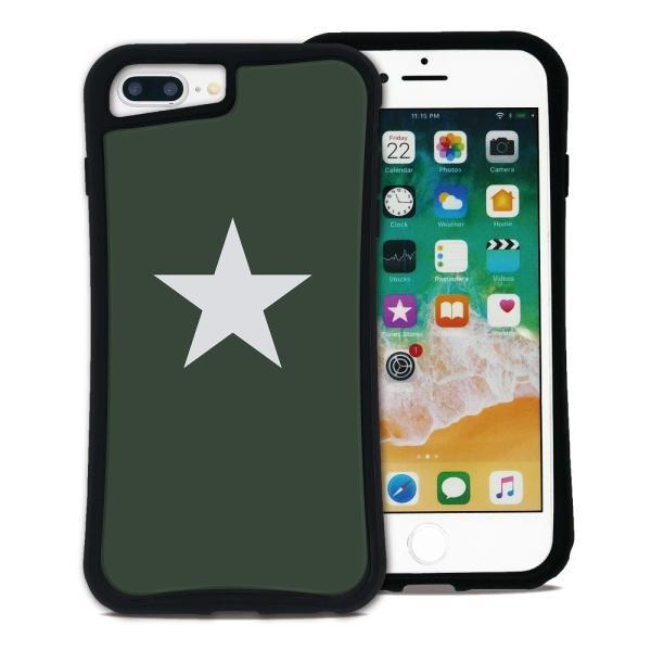 iPhone 7Plus 8Plus 6Plus 6sPlus ケース スマホケース スター 耐衝撃 シンプル おしゃれ くっつく ウェイリー WAYLLY _MK_|waylly|23