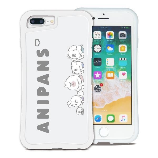 iPhone 7Plus 8Plus 6Plus 6sPlus ケース スマホケース アニパンズ 耐衝撃 シンプル おしゃれ くっつく ウェイリー WAYLLY _MK_ waylly 20
