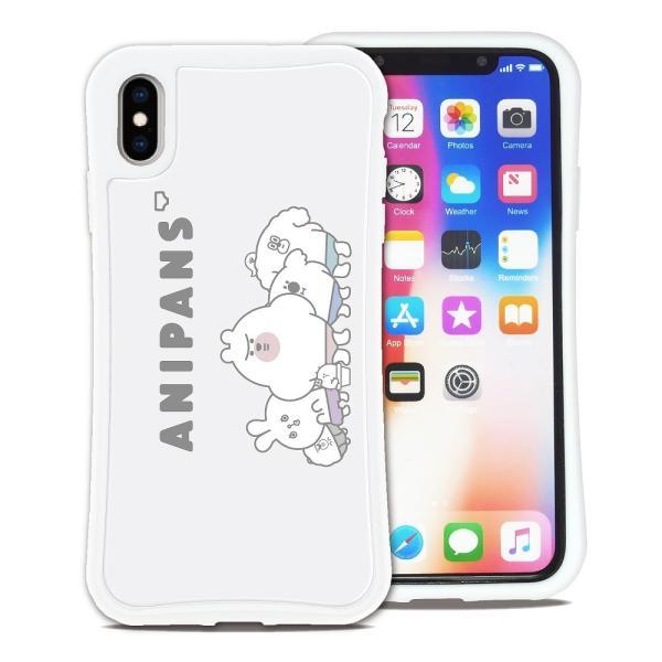 iPhone XS Max ケース スマホケース アニパンズ 耐衝撃 シンプル おしゃれ くっつく ウェイリー WAYLLY _MK_|waylly|19