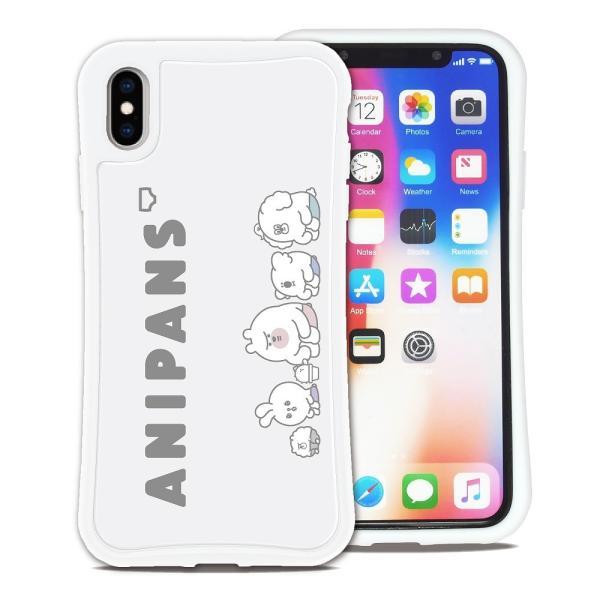 iPhone XS Max ケース スマホケース アニパンズ 耐衝撃 シンプル おしゃれ くっつく ウェイリー WAYLLY _MK_|waylly|20