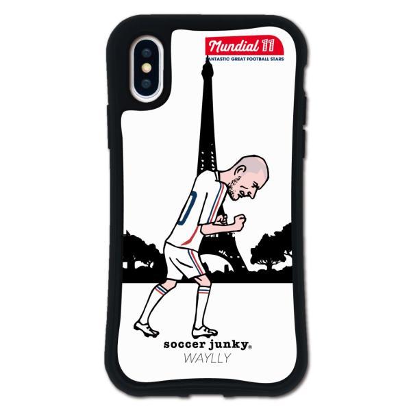 iPhone XS X ケース スマホケース サッカージャンキー ジェリー 耐衝撃 シンプル おしゃれ くっつく ウェイリー WAYLLY _MK_|waylly|19
