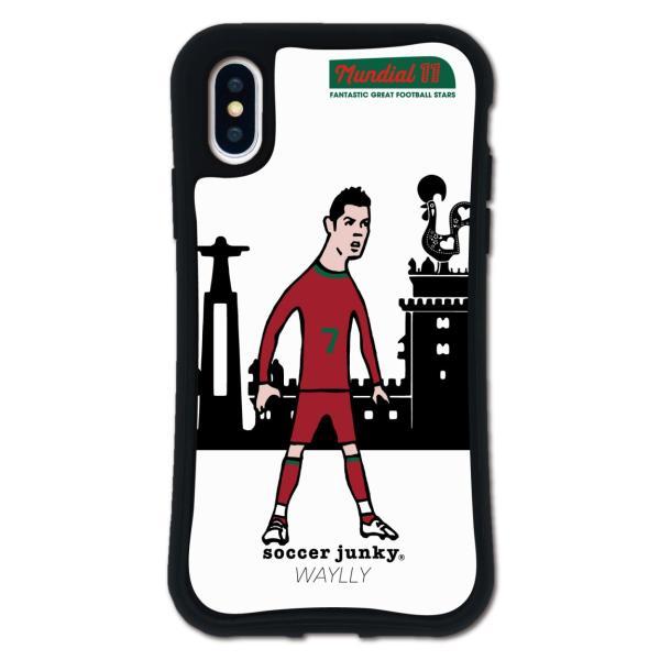 iPhone XS X ケース スマホケース サッカージャンキー ジェリー 耐衝撃 シンプル おしゃれ くっつく ウェイリー WAYLLY _MK_|waylly|20