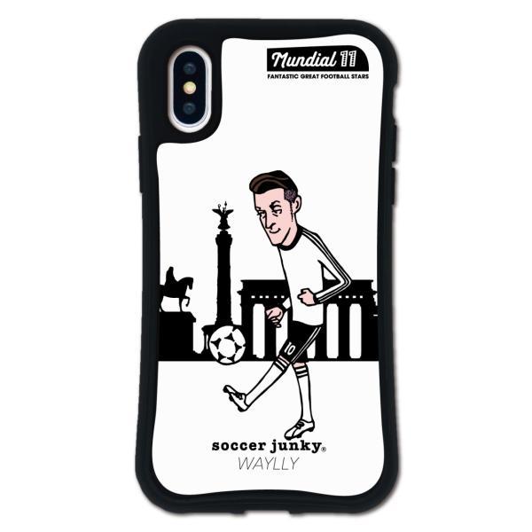 iPhone XS X ケース スマホケース サッカージャンキー ジェリー 耐衝撃 シンプル おしゃれ くっつく ウェイリー WAYLLY _MK_|waylly|21