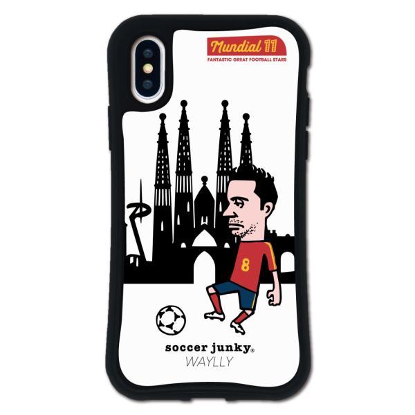 iPhone XS X ケース スマホケース サッカージャンキー ジェリー 耐衝撃 シンプル おしゃれ くっつく ウェイリー WAYLLY _MK_|waylly|23