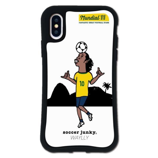 iPhone XS X ケース スマホケース サッカージャンキー ジェリー 耐衝撃 シンプル おしゃれ くっつく ウェイリー WAYLLY _MK_|waylly|24