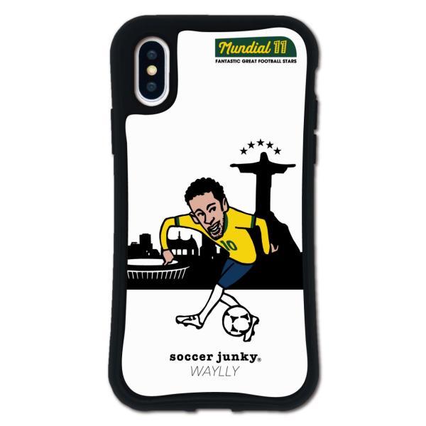 iPhone XS X ケース スマホケース サッカージャンキー ジェリー 耐衝撃 シンプル おしゃれ くっつく ウェイリー WAYLLY _MK_|waylly|25