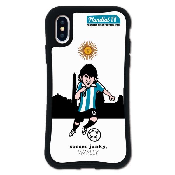 iPhone XS X ケース スマホケース サッカージャンキー ジェリー 耐衝撃 シンプル おしゃれ くっつく ウェイリー WAYLLY _MK_|waylly|26