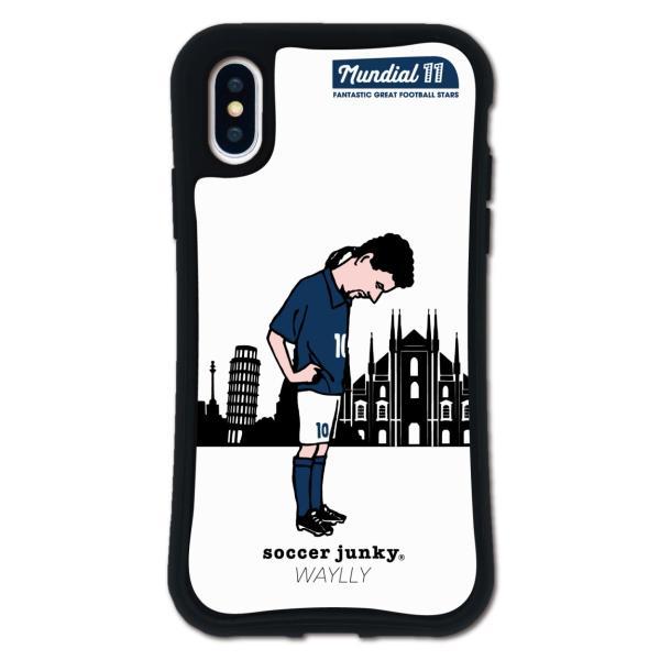 iPhone XS X ケース スマホケース サッカージャンキー ジェリー 耐衝撃 シンプル おしゃれ くっつく ウェイリー WAYLLY _MK_|waylly|27