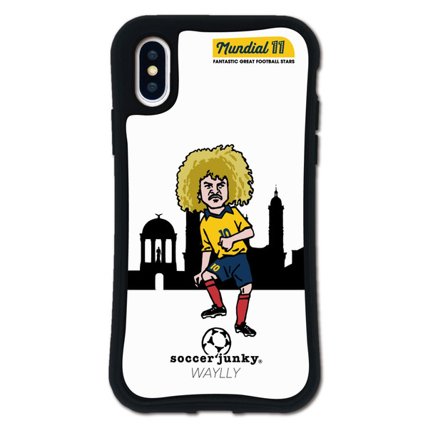 iPhone XS X ケース スマホケース サッカージャンキー ジェリー 耐衝撃 シンプル おしゃれ くっつく ウェイリー WAYLLY _MK_|waylly|28