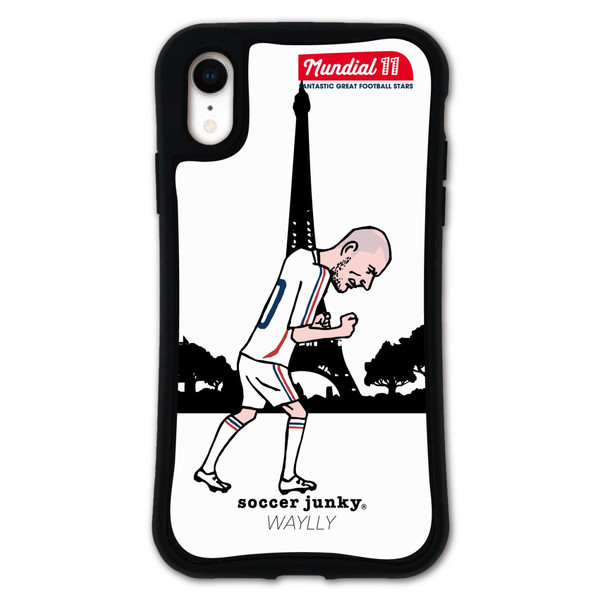 iPhone XR ケース スマホケース サッカージャンキー ジェリー 耐衝撃 シンプル おしゃれ くっつく ウェイリー WAYLLY _MK_ waylly 19