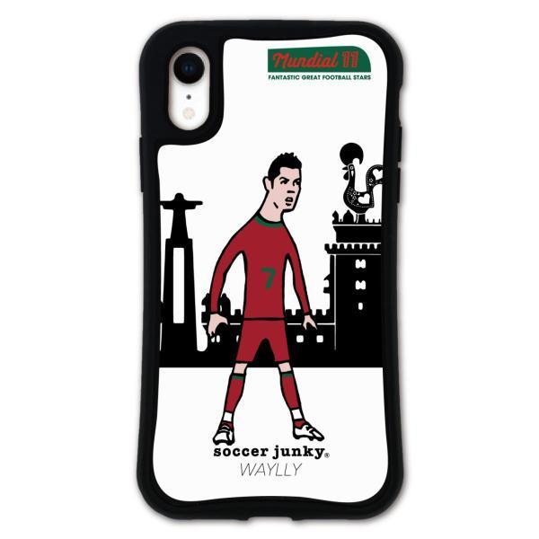 iPhone XR ケース スマホケース サッカージャンキー ジェリー 耐衝撃 シンプル おしゃれ くっつく ウェイリー WAYLLY _MK_ waylly 20