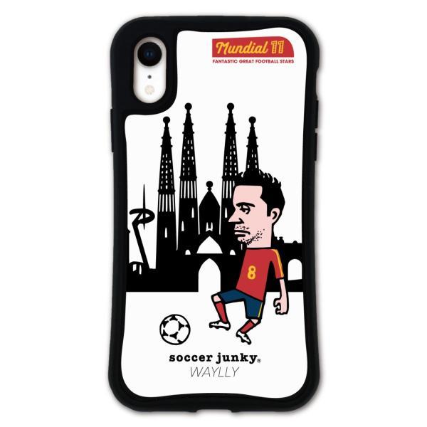 iPhone XR ケース スマホケース サッカージャンキー ジェリー 耐衝撃 シンプル おしゃれ くっつく ウェイリー WAYLLY _MK_ waylly 23