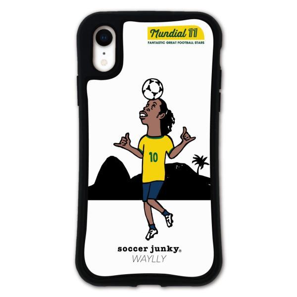 iPhone XR ケース スマホケース サッカージャンキー ジェリー 耐衝撃 シンプル おしゃれ くっつく ウェイリー WAYLLY _MK_ waylly 24