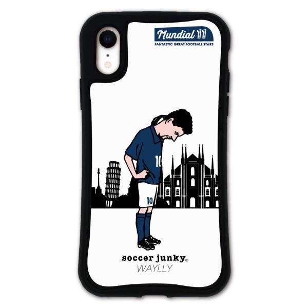 iPhone XR ケース スマホケース サッカージャンキー ジェリー 耐衝撃 シンプル おしゃれ くっつく ウェイリー WAYLLY _MK_ waylly 27