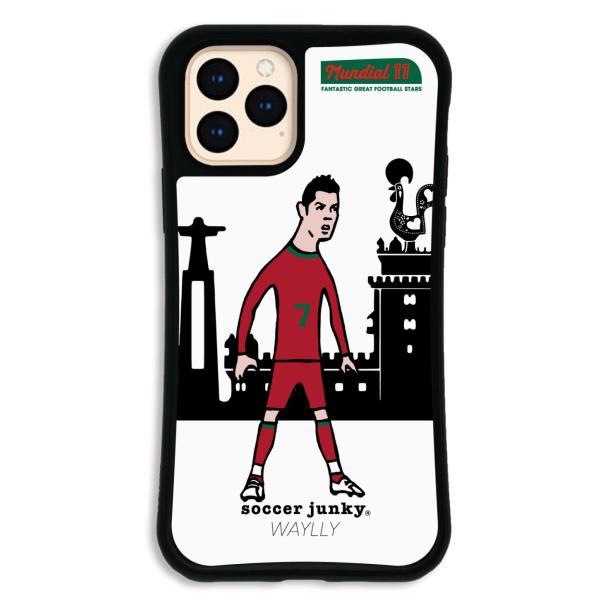 iPhone11 Pro ケース スマホケース サッカージャンキー ジェリー 耐衝撃 シンプル おしゃれ くっつく ウェイリー WAYLLY _MK_|waylly|20