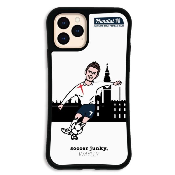 iPhone11 Pro ケース スマホケース サッカージャンキー ジェリー 耐衝撃 シンプル おしゃれ くっつく ウェイリー WAYLLY _MK_|waylly|22
