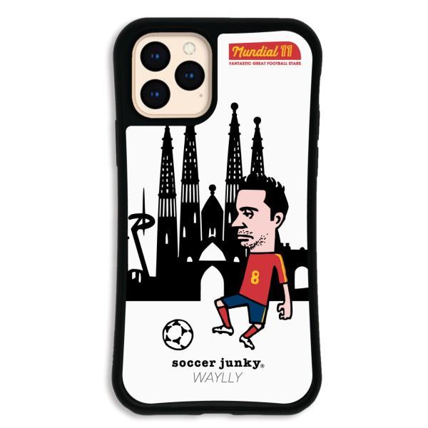 iPhone11 Pro ケース スマホケース サッカージャンキー ジェリー 耐衝撃 シンプル おしゃれ くっつく ウェイリー WAYLLY _MK_|waylly|23