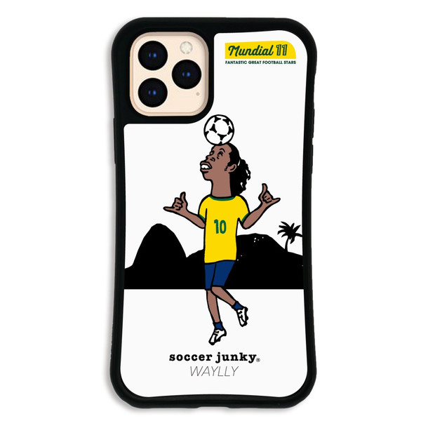 iPhone11 Pro ケース スマホケース サッカージャンキー ジェリー 耐衝撃 シンプル おしゃれ くっつく ウェイリー WAYLLY _MK_|waylly|24