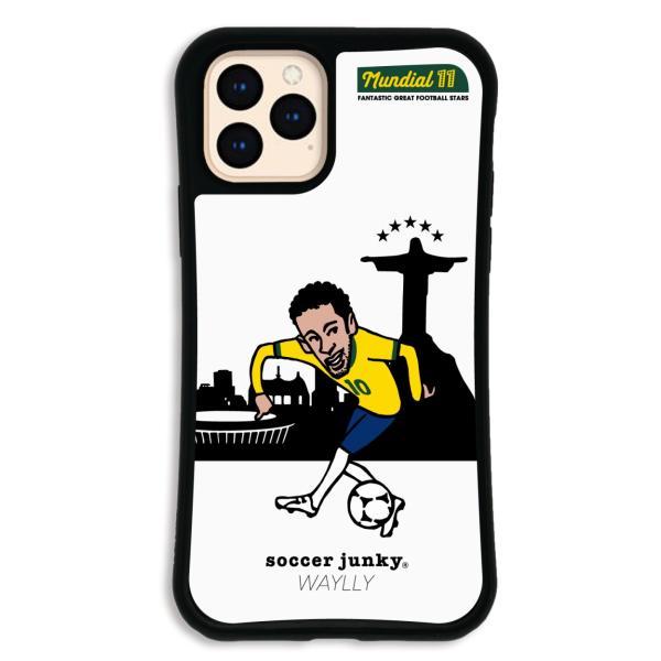 iPhone11 Pro ケース スマホケース サッカージャンキー ジェリー 耐衝撃 シンプル おしゃれ くっつく ウェイリー WAYLLY _MK_|waylly|25