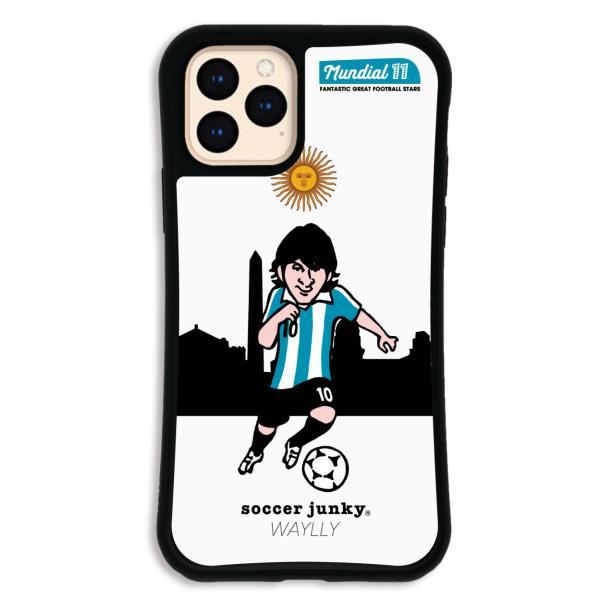 iPhone11 Pro ケース スマホケース サッカージャンキー ジェリー 耐衝撃 シンプル おしゃれ くっつく ウェイリー WAYLLY _MK_|waylly|26