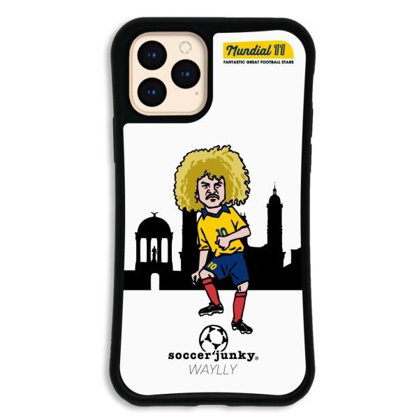 iPhone11 Pro ケース スマホケース サッカージャンキー ジェリー 耐衝撃 シンプル おしゃれ くっつく ウェイリー WAYLLY _MK_|waylly|28