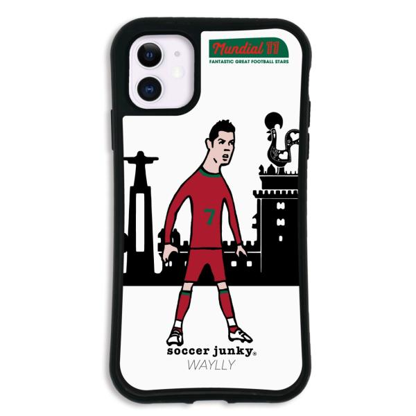 iPhone11 ケース スマホケース サッカージャンキー ジェリー 耐衝撃 シンプル おしゃれ くっつく ウェイリー WAYLLY _MK_ waylly 20