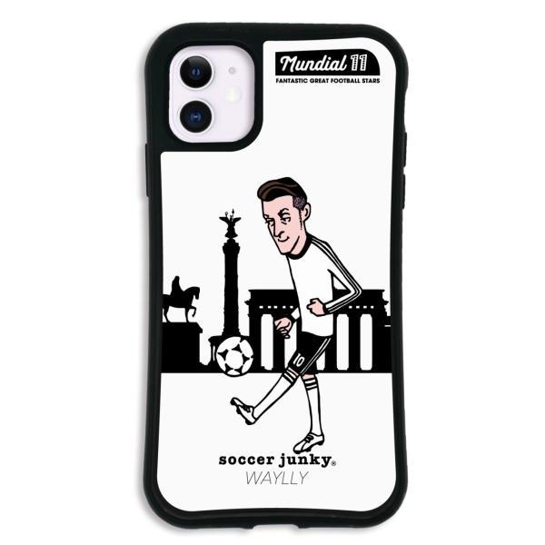 iPhone11 ケース スマホケース サッカージャンキー ジェリー 耐衝撃 シンプル おしゃれ くっつく ウェイリー WAYLLY _MK_ waylly 21