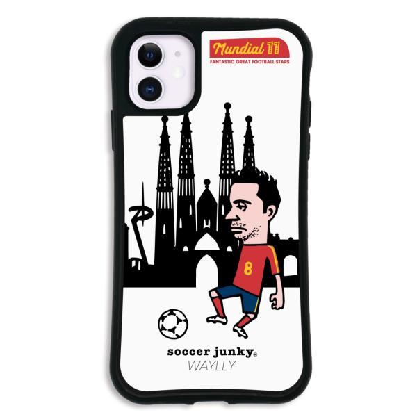 iPhone11 ケース スマホケース サッカージャンキー ジェリー 耐衝撃 シンプル おしゃれ くっつく ウェイリー WAYLLY _MK_ waylly 23