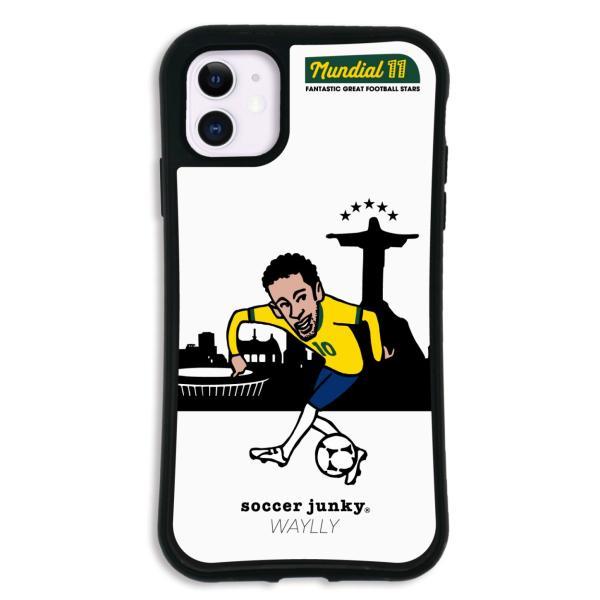 iPhone11 ケース スマホケース サッカージャンキー ジェリー 耐衝撃 シンプル おしゃれ くっつく ウェイリー WAYLLY _MK_ waylly 25