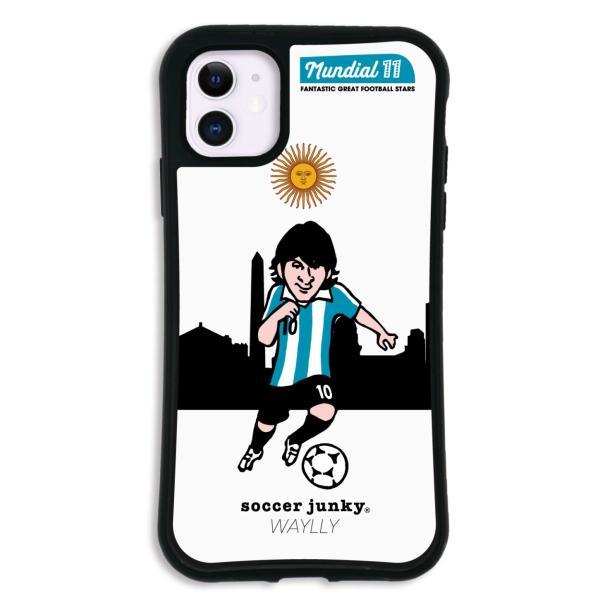 iPhone11 ケース スマホケース サッカージャンキー ジェリー 耐衝撃 シンプル おしゃれ くっつく ウェイリー WAYLLY _MK_ waylly 26