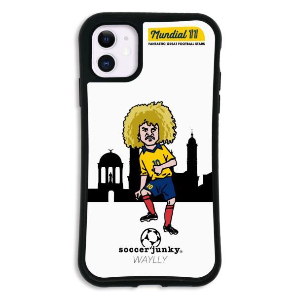 iPhone11 ケース スマホケース サッカージャンキー ジェリー 耐衝撃 シンプル おしゃれ くっつく ウェイリー WAYLLY _MK_ waylly 28