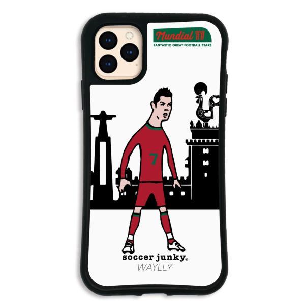 iPhone11 Pro MAX ケース スマホケース サッカージャンキー ジェリー 耐衝撃 シンプル おしゃれ くっつく ウェイリー WAYLLY _MK_|waylly|20