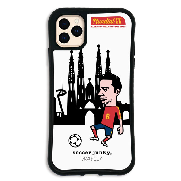 iPhone11 Pro MAX ケース スマホケース サッカージャンキー ジェリー 耐衝撃 シンプル おしゃれ くっつく ウェイリー WAYLLY _MK_|waylly|23