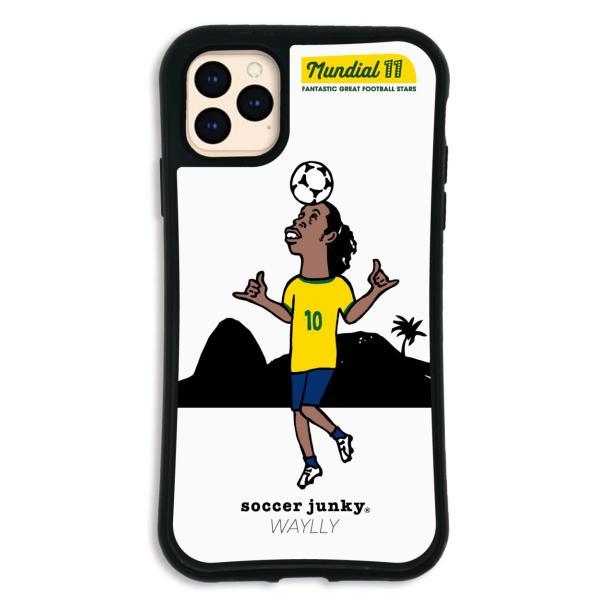 iPhone11 Pro MAX ケース スマホケース サッカージャンキー ジェリー 耐衝撃 シンプル おしゃれ くっつく ウェイリー WAYLLY _MK_|waylly|24