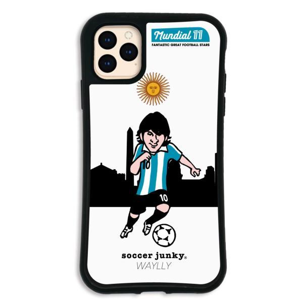 iPhone11 Pro MAX ケース スマホケース サッカージャンキー ジェリー 耐衝撃 シンプル おしゃれ くっつく ウェイリー WAYLLY _MK_|waylly|26