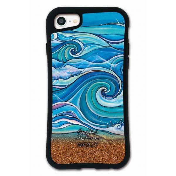 iPhone 8 7 XR XS X SE 6s 6 Plus XsMax 11 pro max ケース スマホケース Colleen Malia Wilcox 耐衝撃 シンプル おしゃれ くっつく ウェイリー WAYLLY _MK_ waylly 06