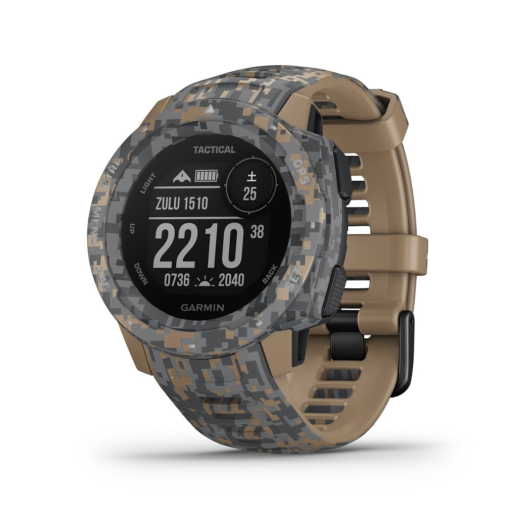 GARMIN Instinct Tactical Camo Coyote Tan 010-02064-D2 【安心のメーカー1年保証】