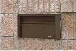 郵便受け箱(ポスト)壁面埋め込み&スタンドポールタイプ小・中型サイズ